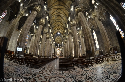 """This duomo falls into the """"cavernous"""" category."""