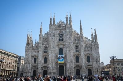 Milan's imposing duomo.
