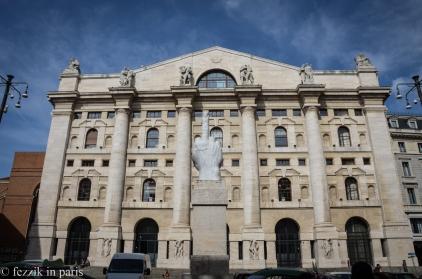 The Italian stock exchange.