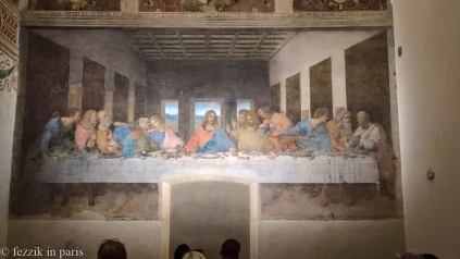 The Engineer's Guide to Art, Appendix IX, The Last Supper: even if the argument is that John is traditionally portrayed as being more effeminate, he's not in this painting because that is a woman.