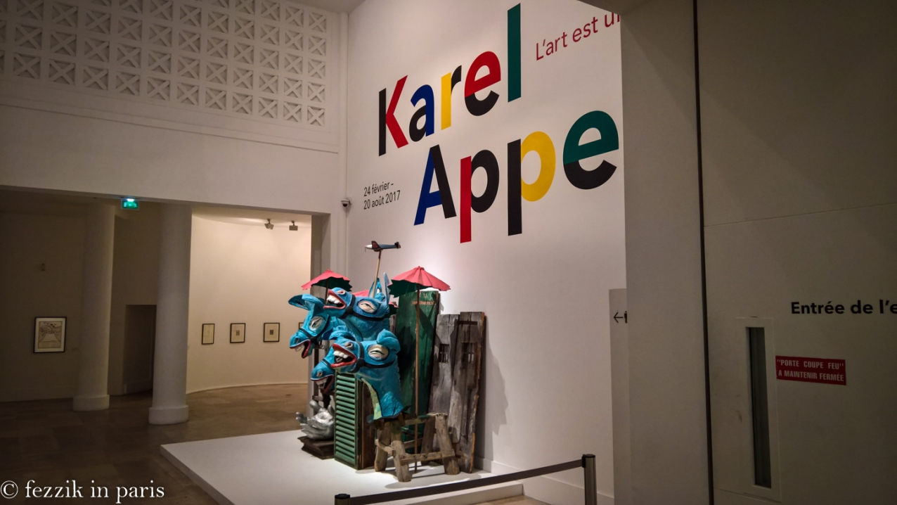 I am going to discover the shit out of Karel Appel.