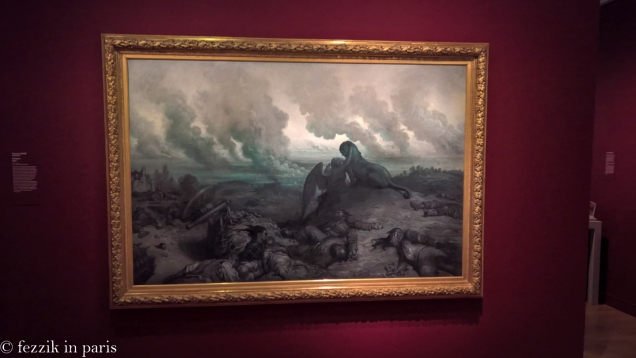 The temporary exhibit told the story of the Franco-Prussian conflict of 1870, which set the stage for the bloodbath that would be the first world war (which itself lit the fuse on the second world war).