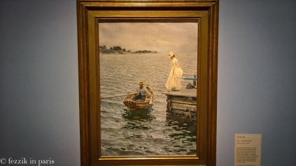 This painting was used for the Anders Zorn poster. That's watercolor.