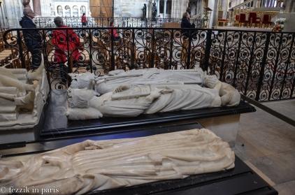 Philippe IV le Bel (top) and Philippe III le Hardi.