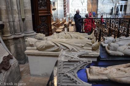 Charles Martel (top left) and Clovis II.