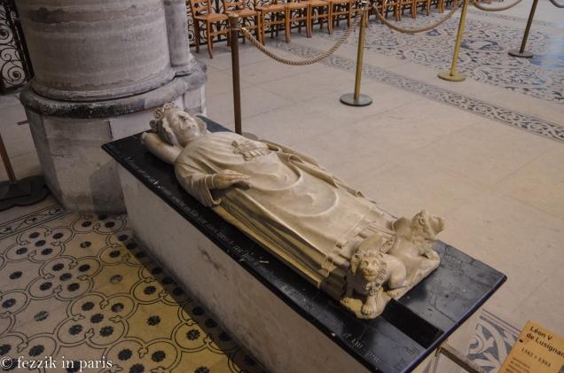 Léon V de Lusignan.
