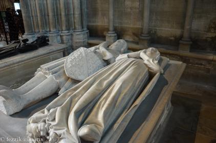 Louis de France (left) and Marguerite d'Artois.
