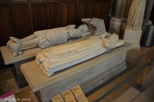 Charles, comte d'Etampes (left) and Marguerite de Flandre.