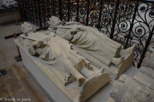 Louis III (right) and Carloman.