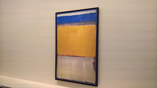 Shit. I managed to take a blurry picture of a Rothko.