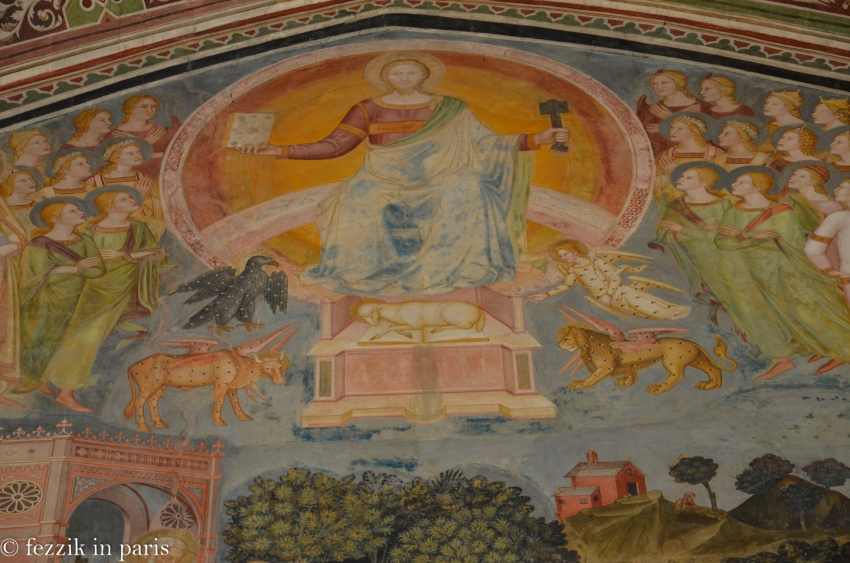 A fresco in the convent of Santa Maria Novella.