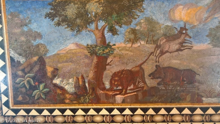 Roman-era lions.